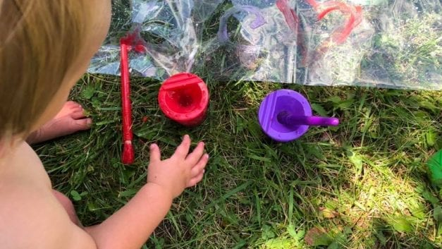 Summer Art Activity for Toddlers (and the Whole Family)