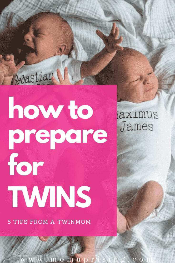 How to Prepare for Twins, 5 Tips from a TwinMom