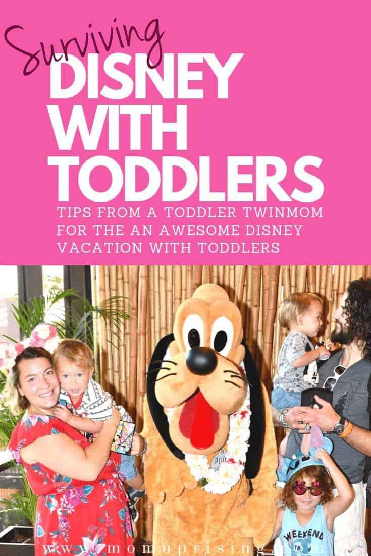 How to Survive Disney World with Toddlers