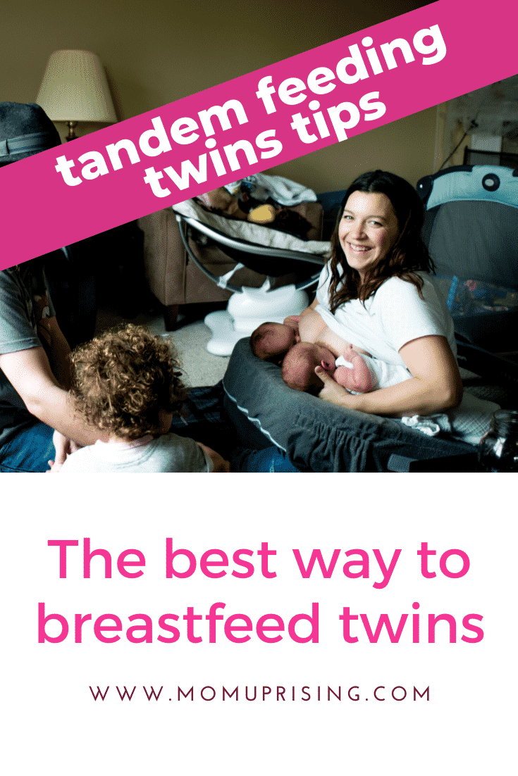 The Best Way to Breastfeed Twins