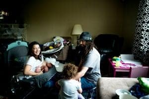 tandem breastfeeding twins