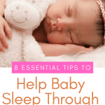 How to get a baby to sleep longer stretches at night