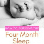 how to survive the four month sleep regression